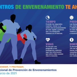 AAPCC 2021 National Poison Prevention Week Infographic Poison Centers Save Infographic Spanish FINAL