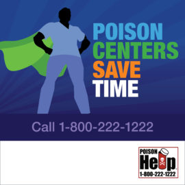 AAPCC National Poison Prevention Week Infographic Poison Centers Save English IG 1080×1080 Man