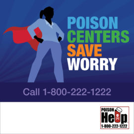 AAPCC National Poison Prevention Week Infographic Poison Centers Save English IG 1080×1080 Woman