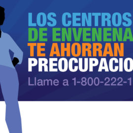 AAPCC National Poison Prevention Week Infographic Poison Centers Save Spanish FB_TW 440×220 Woman