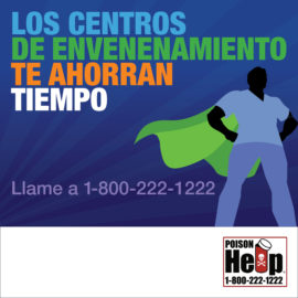 AAPCC National Poison Prevention Week Infographic Poison Centers Save Spanish IG 1080×1080 Man